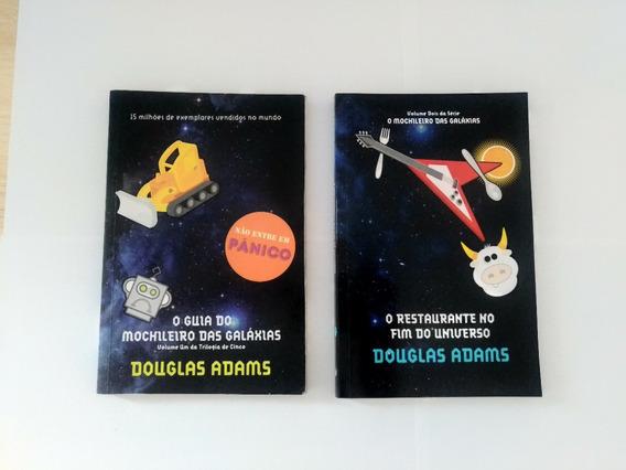 Coleção - Guia Do Mochileiro Da Galáxias (5 Livros)