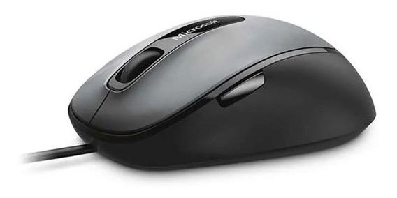 Mouse Microsoft Com Fio Comfort Usb Preto / Cinza 4fd00025
