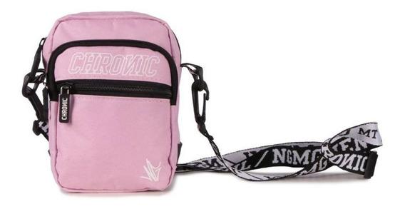 Mini Bolsa Shoulder Bag Chronic Rosa Pink Lançamento!