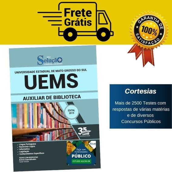 Apostila Uems - Auxiliar De Biblioteca - Mato Grosso Do Sul