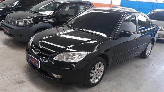 Honda Civic 1.7 Lxl 16v Gasolina 4p Automático 2005/2005
