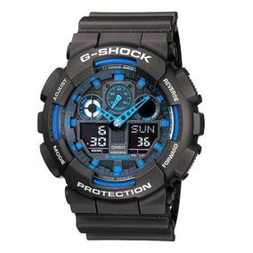 Relógio G Shock Ga 100 1a2dr Original Nfe + Garantia