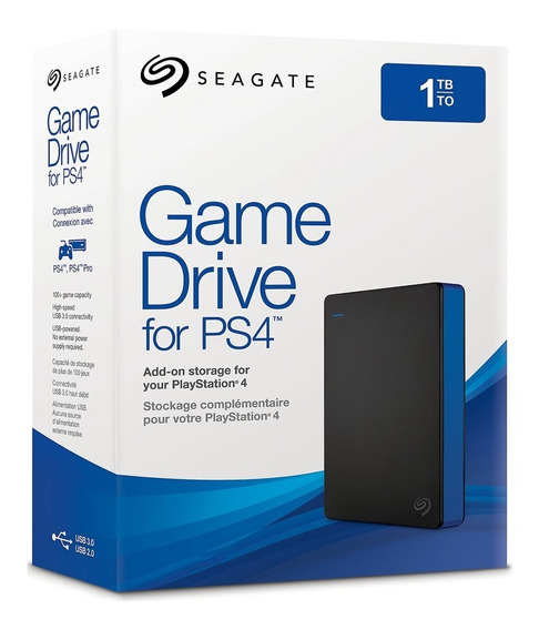 Disco Externo Ps4 1tb Usb 3.0 Seagate Game Drive Stgd1000100