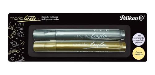 Marcadores Metalizados Markatodo (set X 2)