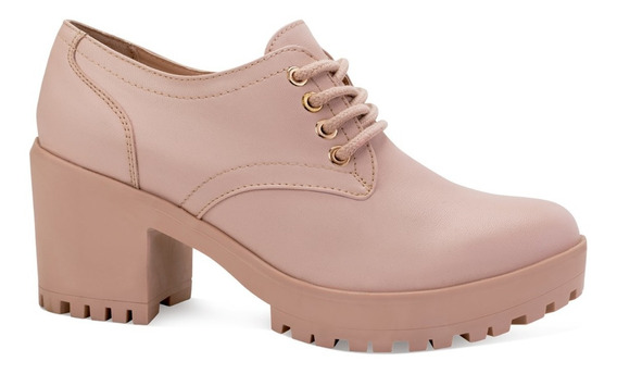 Capa De Ozono Zapatos Tacon 7cm Casuales Lisos Moda 6610791