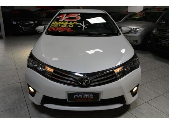 Corolla 2.0 Xei 16v Flex 4p Automático 58400km