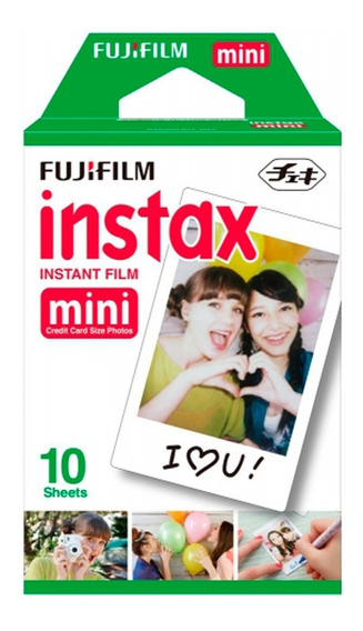 Fujifilm Instant Color Film Instax Mini - Pack 10 Poses