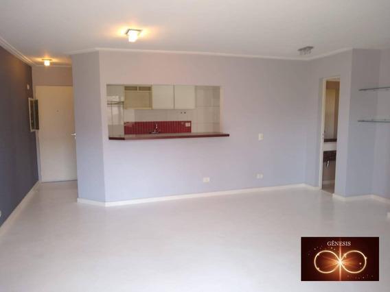 Apartamento Com 2 Dormitórios Para Alugar, 80 M² Por R$ 1.300,00/mês - Vila Andrade - São Paulo/sp - Ap0022