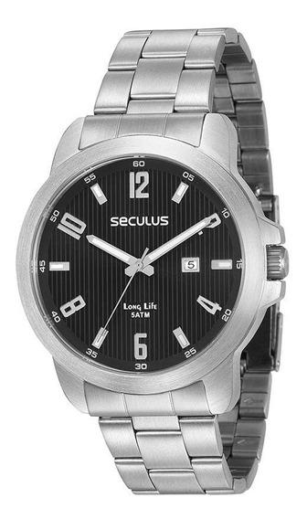 Relógio Masculino Seculus Executivo 28927g0svna1