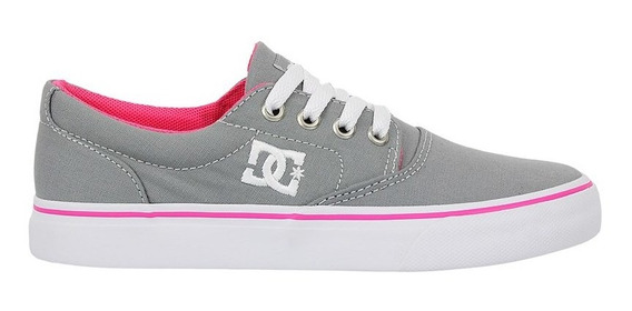 Tênis Dc Shoes New Flash 2 Tx Light Grey
