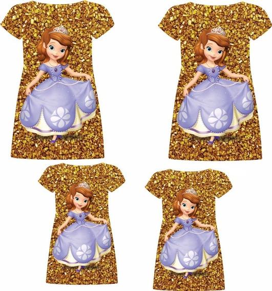 Vestidos Adulto E Infantil + Camisas Masculinas Adulto E Infantil - Sofia Dourados