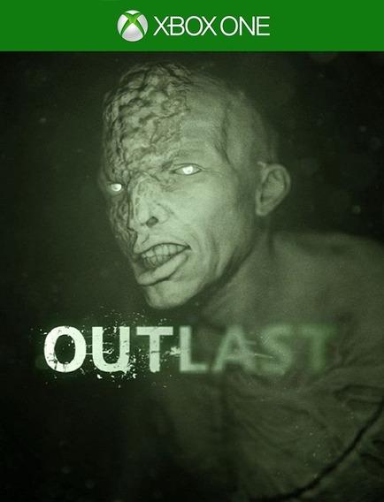 Outlast Xbox One - 25 Dígitos Original (envio Flash)