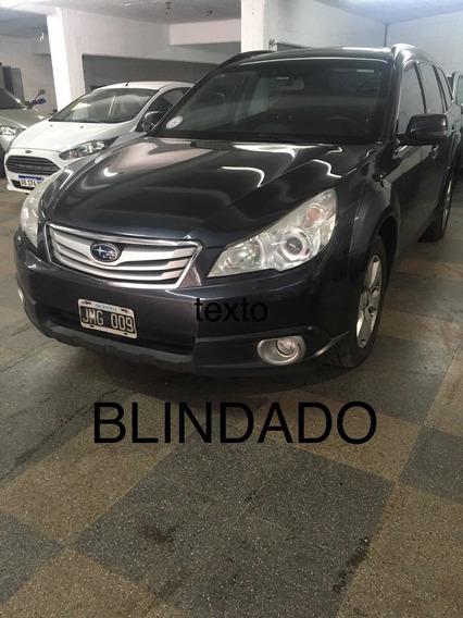 Subaru Outback 2.5 Awd Blindado Rb3
