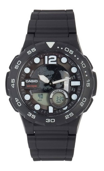Relogio Masculino Standard Aeq-100w-1avdf - Casio - Original