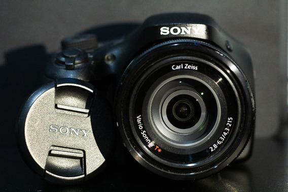 Câmera Sony Dsc H300 20.4mp + Sd 8gb