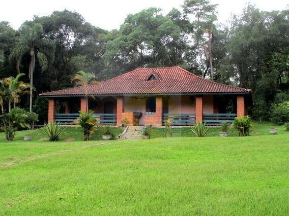 Chácara À Venda Com 10000 M² Por R$ 790.000 - Ponte Alta - Nazaré Paulista/sp - Ch1157