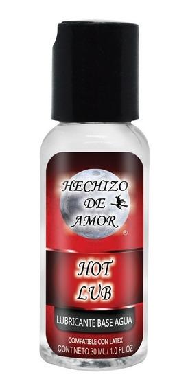 Lubricante Termico Intimo Hot Lub Hechizo De Amor 30ml