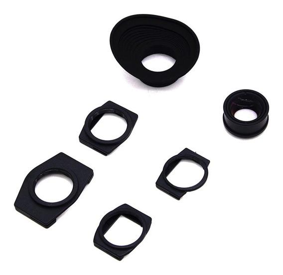 1.3x Zoom Lupa Eyecup Visor Para Sony A350 A550 A700 A900