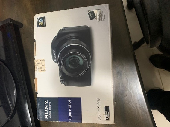 Camera Sony Hx100v Full Hd Super Zoom 30x 3d 16.2mp Lcd 3
