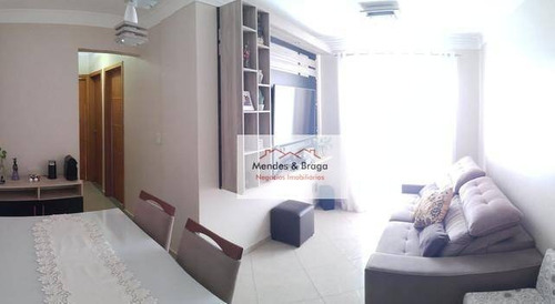 Imagem 1 de 15 de Morada Das Árvores Apartamento Com 3 Dormitórios À Venda, 68 M² Por R$ 350.000 - Picanco - Guarulhos/sp - Ap2228