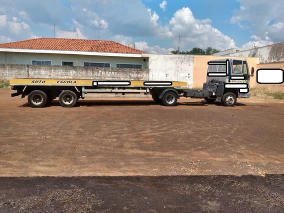 Mb 712 Ano 2011 Com Carreta Auto Escola 2 Eixos