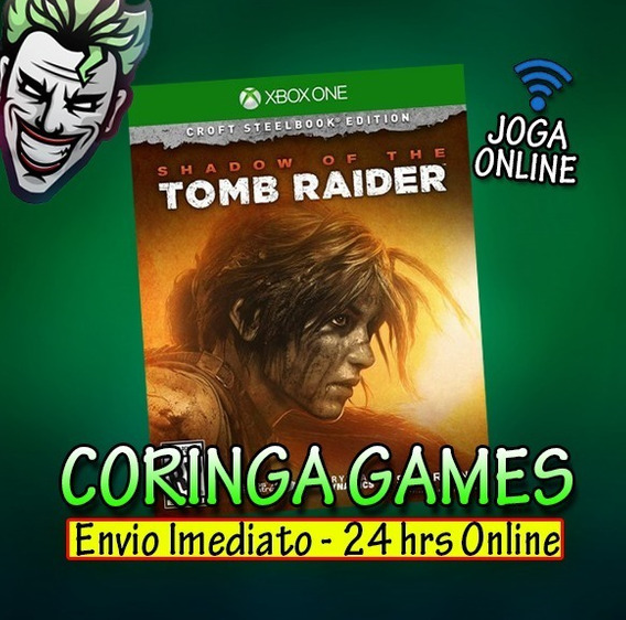 Shadow Of The Tomb Raider Xbox One Mídia Digital + 1 Jogo