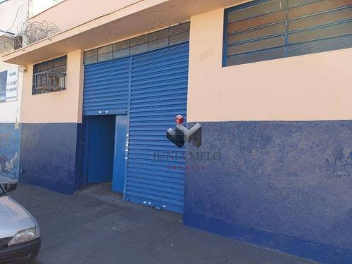 Imagem 1 de 8 de Salão Para Alugar, 250 M² Por R$ 2.500/mês - Campos Elíseos - Ribeirão Preto/sp - Sl0130
