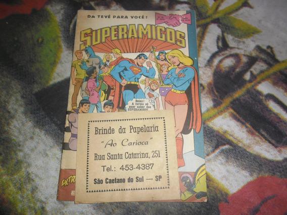 Hq Superamigos Nr 33 Segunda Série Ed. Ebal 1981