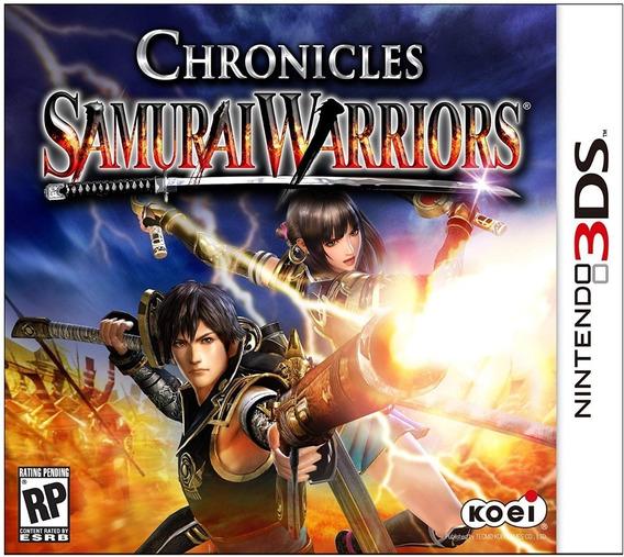 Samurai Warriors Chronicles 3ds - Mídia Física Lacrado Novo