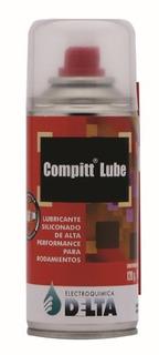 Compitt Lube Delta Lubricante Siliconado Rodamientos 180cc