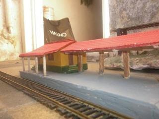 Gus Estacion De Campo Ferrocarril Argentino H0