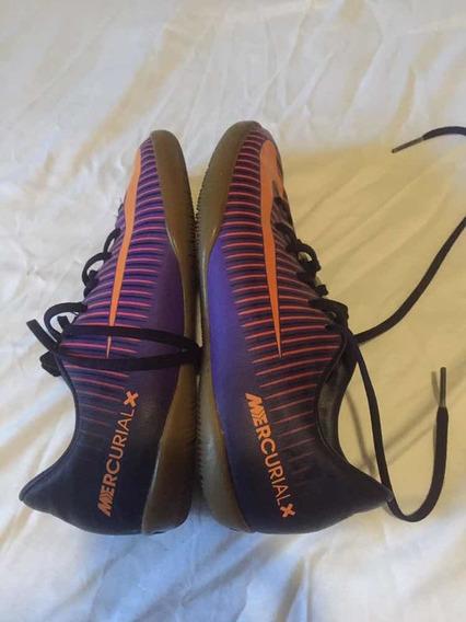 Zapatos Fútbol Sin Tacos Nike Mercurial Talla Eur 33
