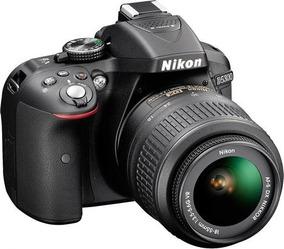 Câmera Nikon D5300 24,2mp Kit Lente Af-p Dx 18-55mm Vr