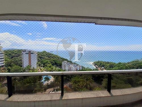 Apartamento Com 4 Dormitórios À Venda - Morro Sorocotuba - Guarujá/sp - Ap10686
