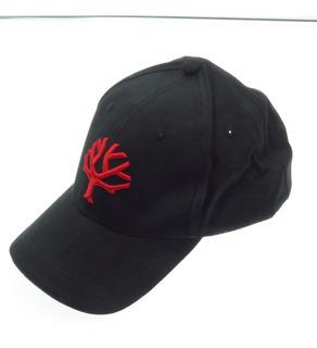 Bo09bo102 Boker Gorra Logo Arbolito Negra Logo Rojo Unitalla