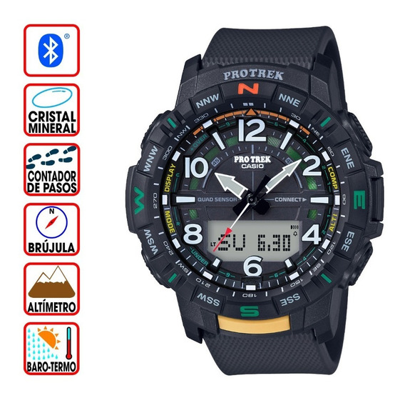 Reloj Casio Protrek Connected Prt-b50-1 Sensor