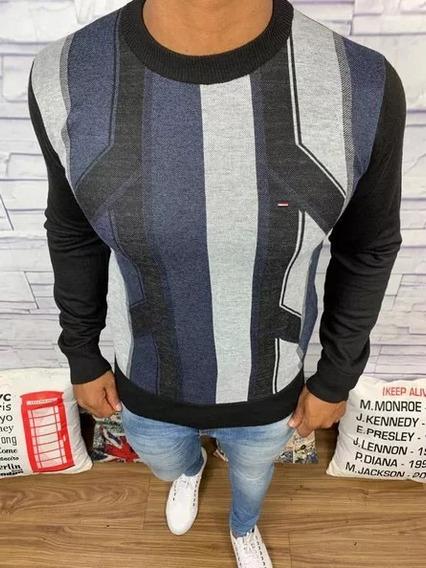 Blusa De Frio Suéter Masculino Casual Marcas De Grife