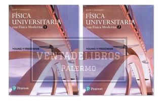 Fisica Universitaria Sears Zemansky Vol. 1 + 2 Pearson Nuevo