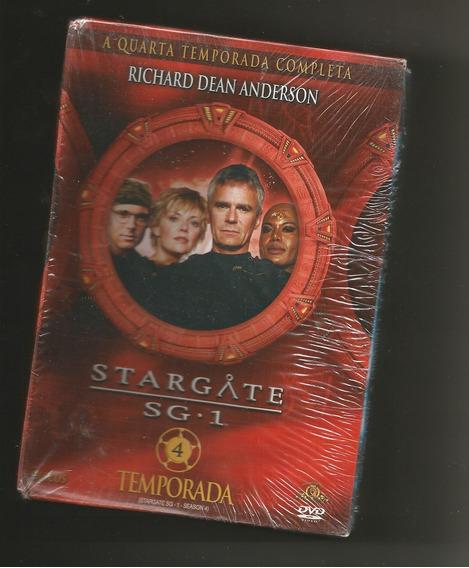 Stargate Sg-1 - 4ª Temporada 6 Dvds Slim Lacrado
