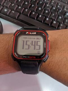 Relogio Triatlhon Polar Rc3 Gps, Sensor Cardiaco+cadencia