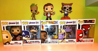 Funko Pop Marvel Coleccion Originales Combo X 5