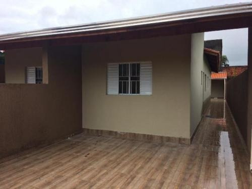 Linda Casa No Jardim Suarão, Itanhaém, Ref. 5536 M H