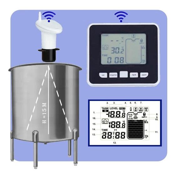 Alimentos - Medidor Nível Ultrassônico Sensor Wifi Range 15m
