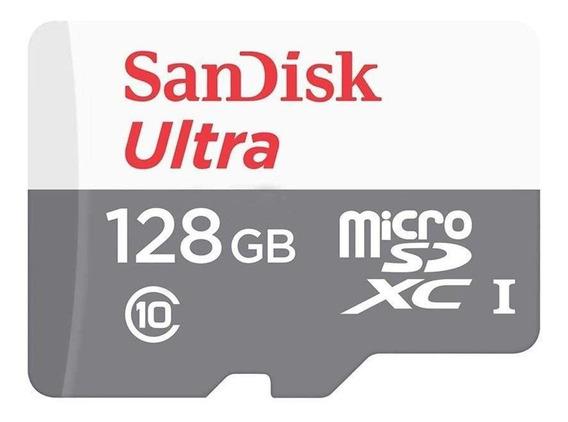 Cartão De Memória Micro Sd 128gb Sandisk Ultra