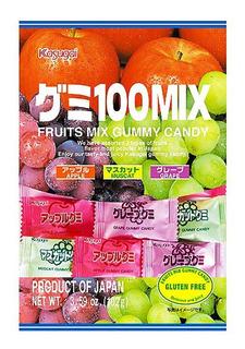 Gomitas Sabores Frutales Japonesas