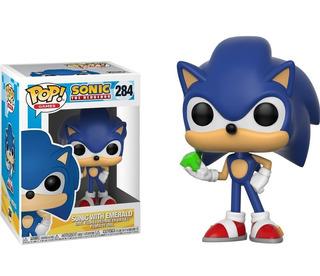 Funko Pop! Sonic With Emerald Nuevo Sellado Hadriatica