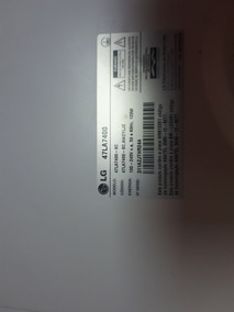 Wifi E Painel Lg 47la7400