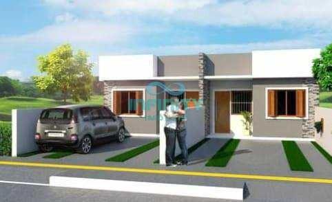 Casa Com 2 Dorms, Jardim Do Cedro, Gravataí - R$ 155 Mil, Cod: 1144 - V1144