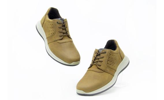 Zapatos Comodos Caballero Flexi 401501 Honey 100% Originales
