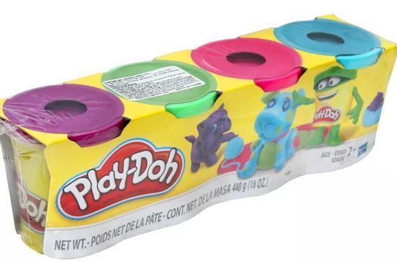 Play-doh Hasbro Empaque X4